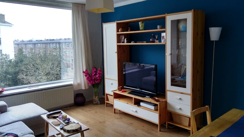Cozy apartment (Border of The Hague) - Voorburg - Apartemen
