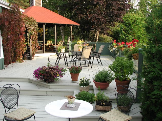 Au Jardin d'Ozanne B&B BaieSt-Paul - Baie-Saint-Paul