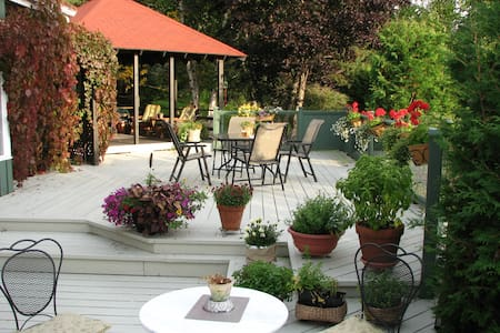 Au Jardin d'Ozanne B&B BaieSt-Paul - Baie-Saint-Paul - Pousada