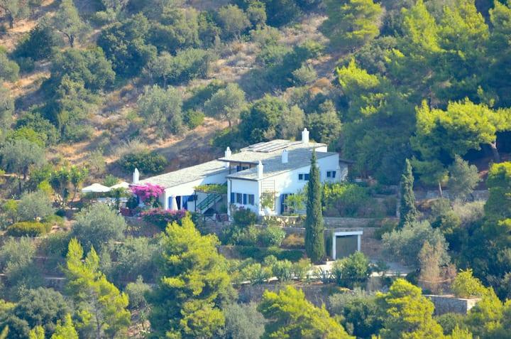 Luxury & romantic villa on the sea
