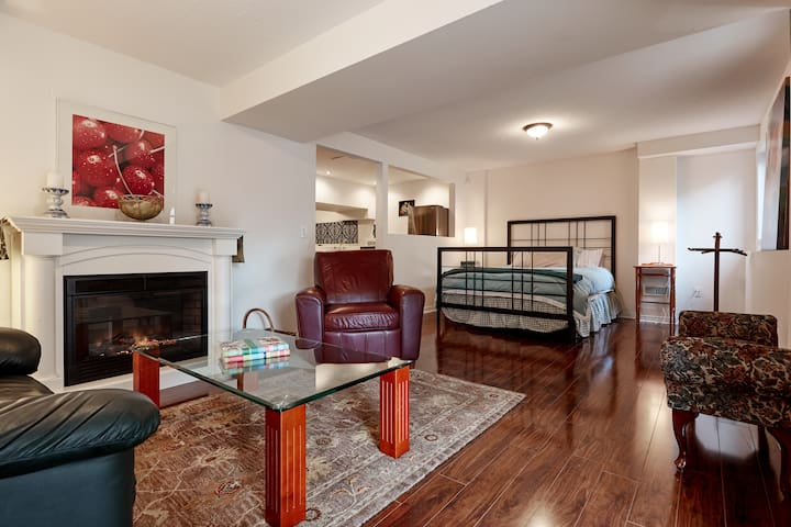 Versatile Bachelor Space with Den and Second Bed!