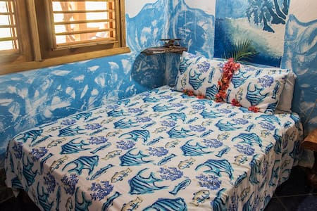 Chalet Tropical B&B blue double #4 - Las Galeras - Bed & Breakfast