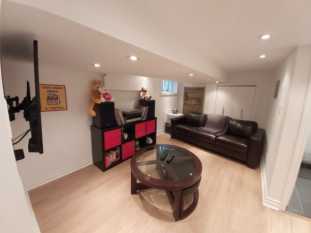 Lovely Spacious 1 bedroom basement apartment