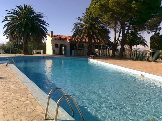 Appartement dans nature , piscine et tennis