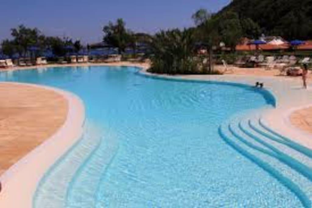 tre piscine nuovissime