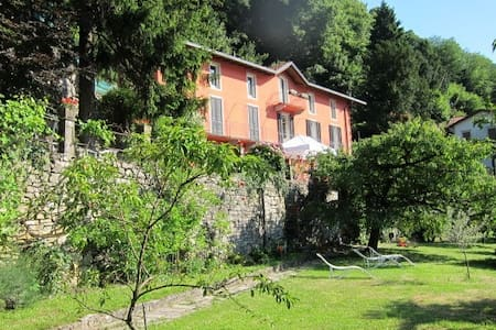 villa, garden, amazing view:side with rose 8 beds - Torno