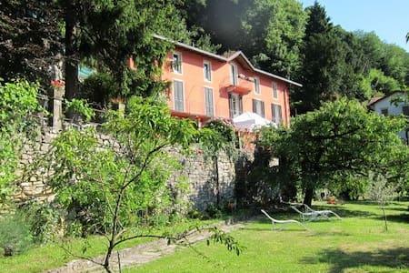 villa avec jardin et merveilleuse vue sur le lac - Torno