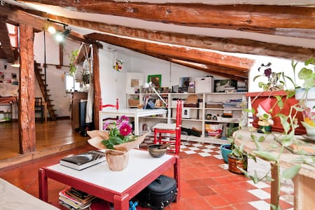 Bohemian Under-roof In Opera - Madrid - Loft