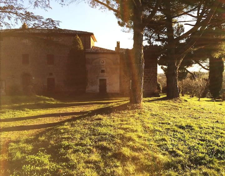 Appartamento CEDRO in antico casale a Lubriano