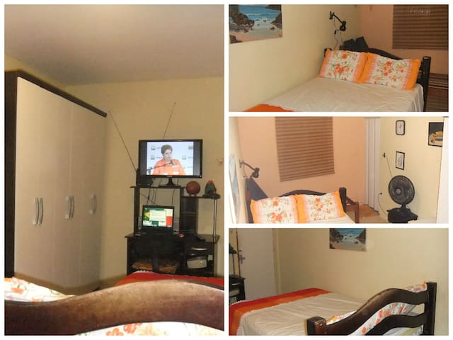 Bedroom suite with 4 beds for Cup - Recife - Casa