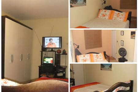 Bedroom suite with 4 beds for Cup - Recife - House
