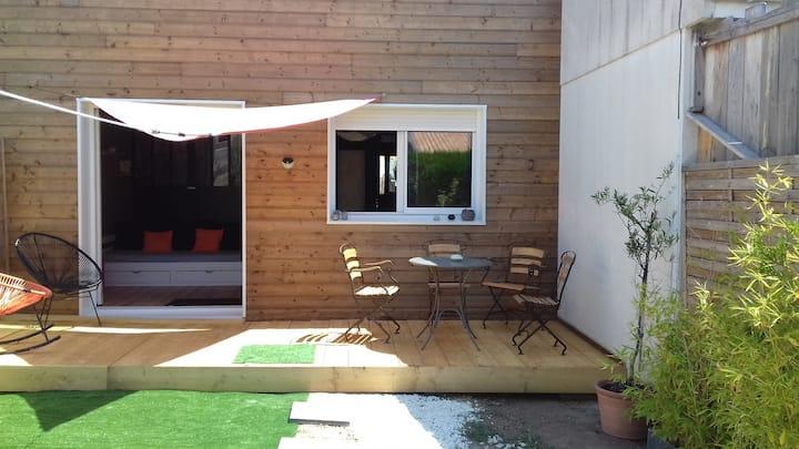 Maison/jardin 2 pers