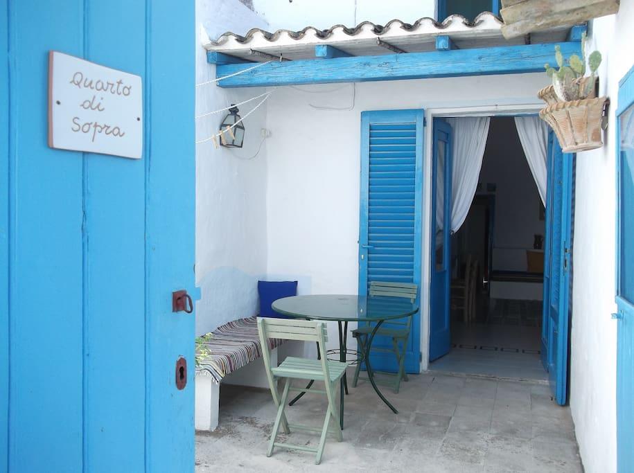 ingresso e patio