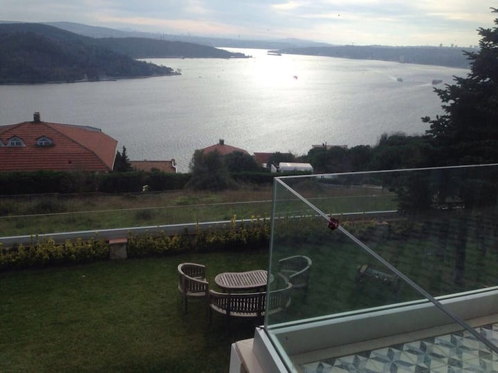 4BR Top Of Sariyer Big Garden Villa