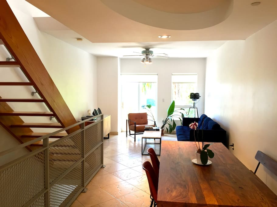 Second floor has the living & dining room, kitchen and bathroom.(2nd Floor)