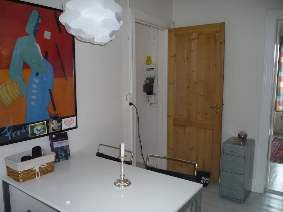 Cosy and central 65 sqm. app.