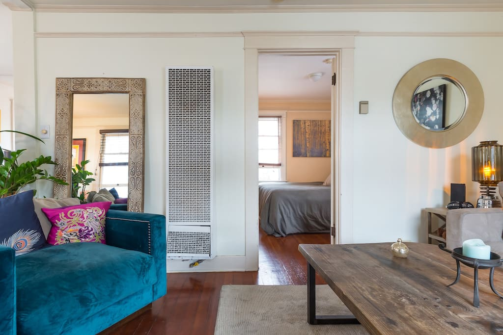 Wide open layout of the house provides for easy access to all rooms.
