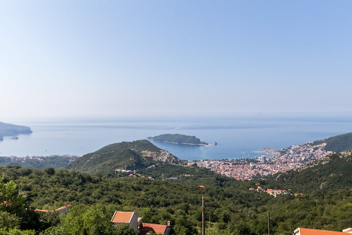 Villa Anastasya with Panorama Adriatic Sea View