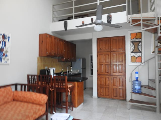 Casa Vacacional FRENTE AL MAR, 2 hab, Costambar