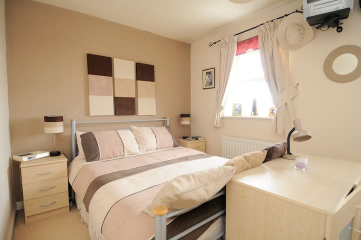 A Modern Double Room in Greenwich. - London - Rumah