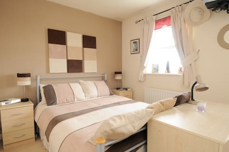A Modern Double Room in Greenwich.