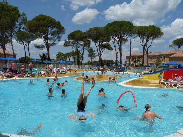 Village de vacances dans le Gard