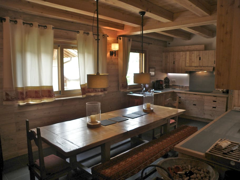 cuisine salle à manger toute équipée