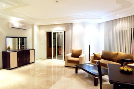 Alanya Grand Central 2bedr, 4+1pers - Alanya - Daire