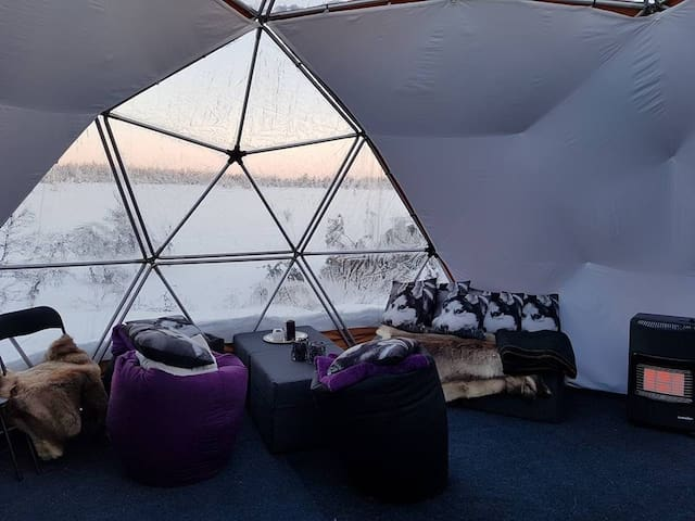 Unique experience in Arctic Dome - Sjusjøen - Inny