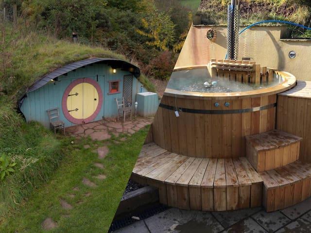 Hobbit House, Plus room in house, plus Hot tub
