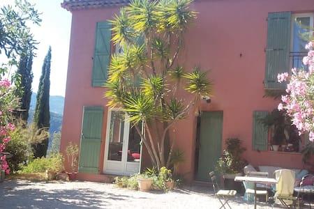 Chambre dans maison au calme sur collines de Nice - Nice