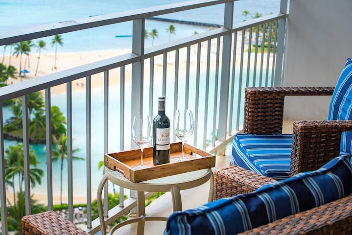 Beachfront Condo with Ocean and Beach View.