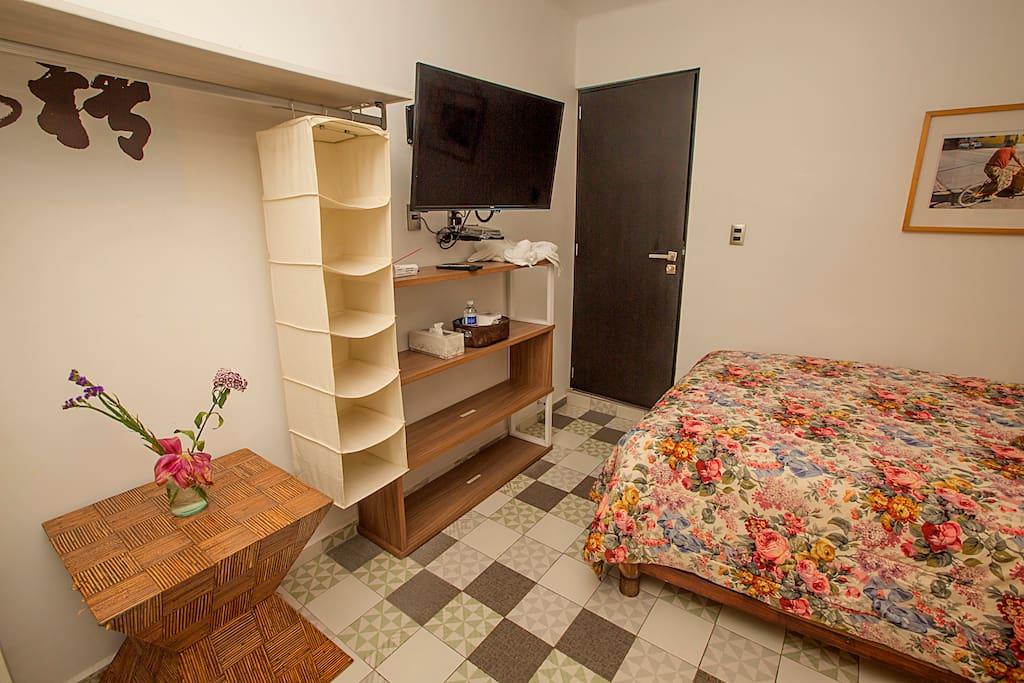 habitación 2 cama matrimonial
