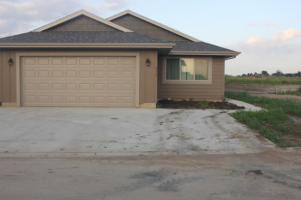 Garage & Oversized Driveway provide lots of parking