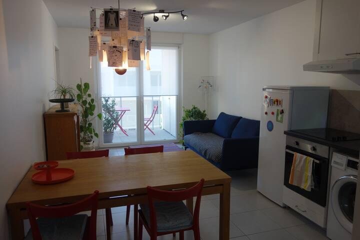 Bel appartement de 40m² + balcon