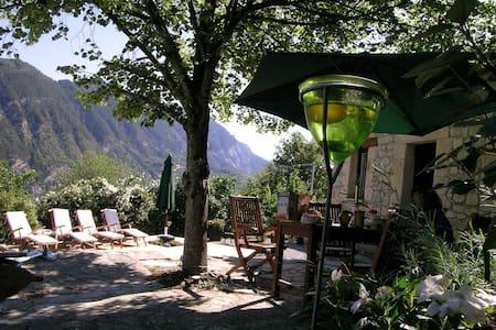 Maison de charme en Provence pr 6/8 - Entrevaux - 独立屋