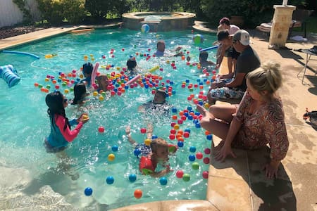 Pool Party Evening Rental - Heated Pool & Hot Tub!
