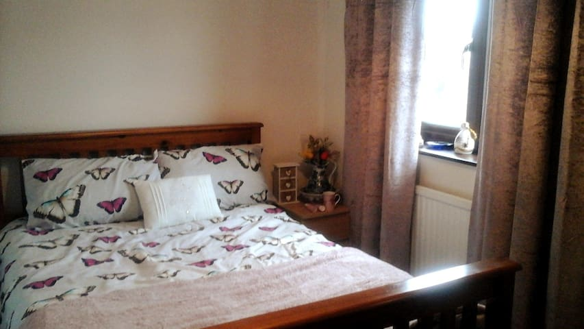King Double bed near Swansea city centre
