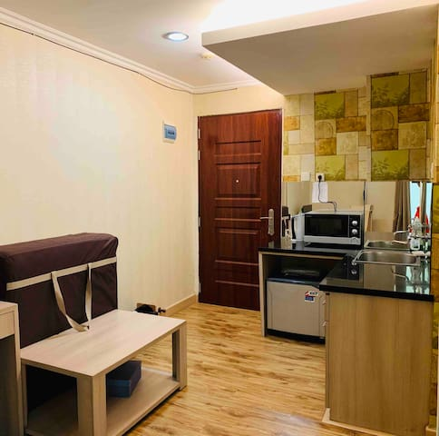 Spacious & clean apartment 36 Sqm is all you need.