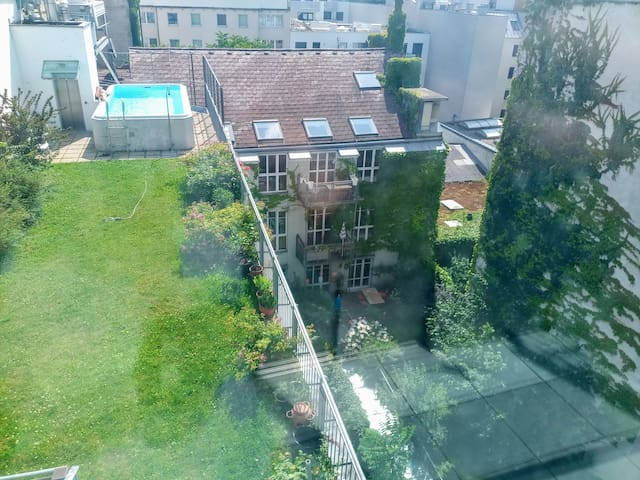 Rooftop garden + pool ✔ Perfect duo apartment