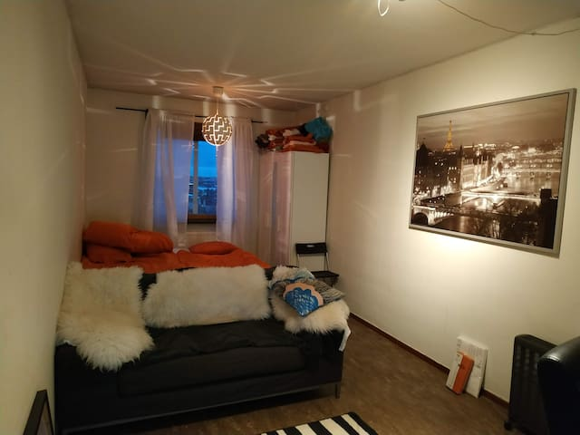 Room with view over stockholm city for 1-3 people