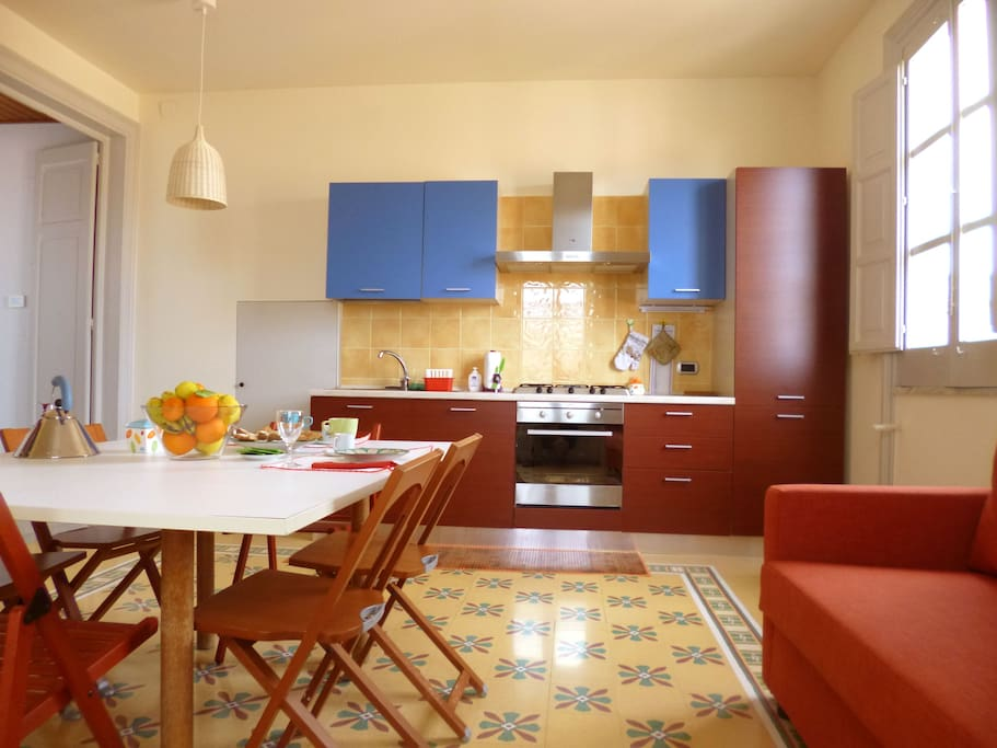 Zona cucina - Kitchen area