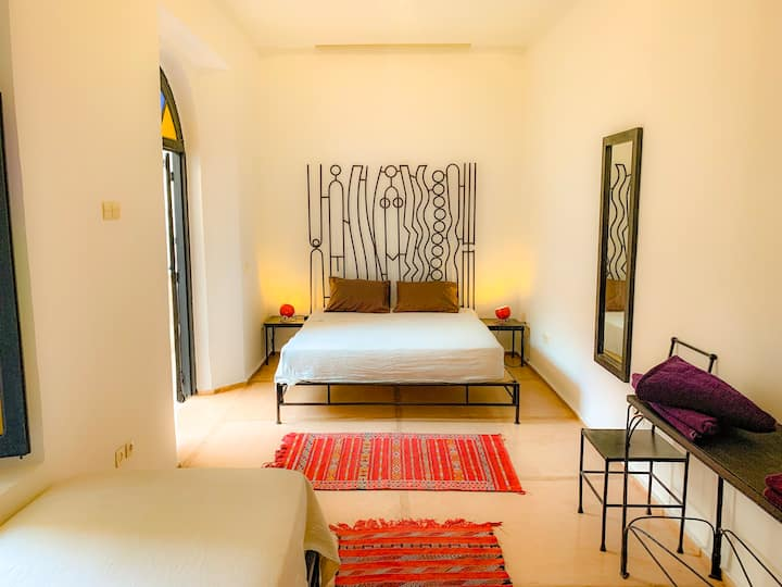 Maison d'Horme, Yellow suite, fiber optic wifi.