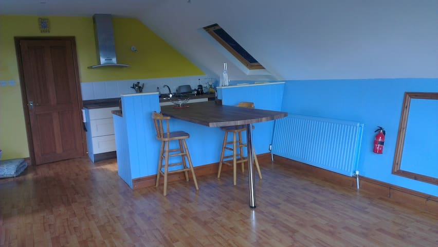 Studio Flat with sea views - West Sussex - Lägenhet