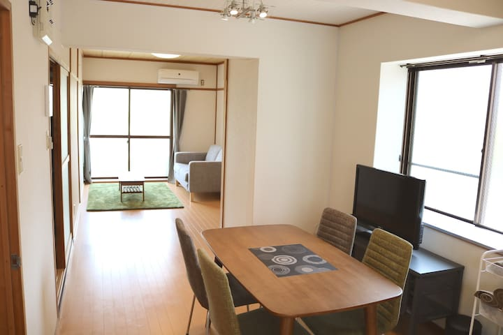Yuasa sta.7mins!!Best for tourism‼ Free wifi - Hirogawa-chō - Apartment