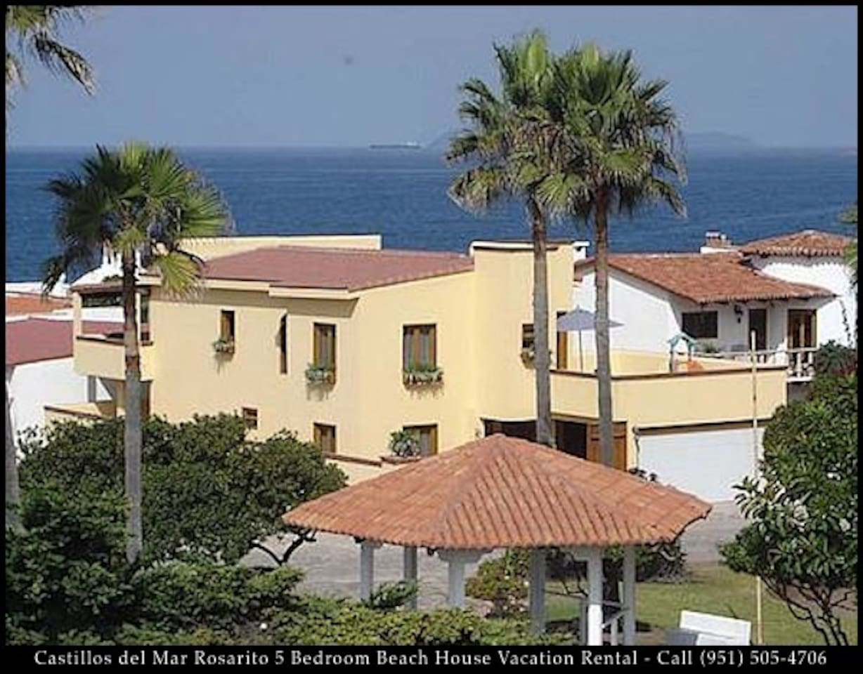 Rosarito 5 Bedroom Beach House Trains For In Baja California Mexico