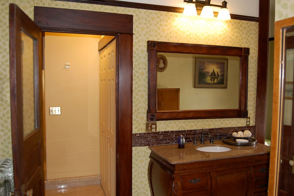Large Private Bathroom