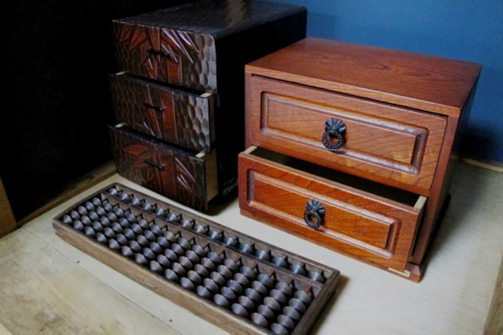 Abacus, Old japanese calculator, Soroban.