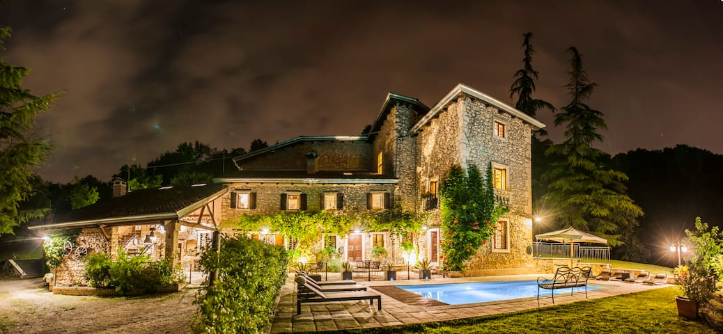 Giardino di Sibilla - 16 sleeps villa with private pool - Castelgomberto Vicenza - Castelgomberto