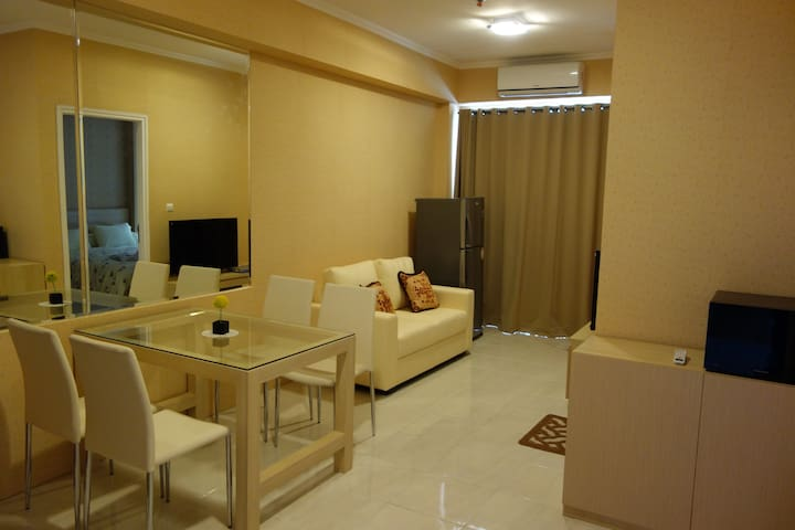 1BR apartment! GREAT PLACE & VIEW! - South Tangerang